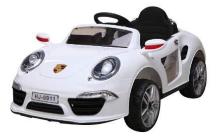 Машина аккум. порше 911, р-р 120x69x50см,белая
