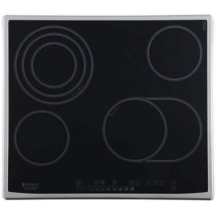 Встраиваемая варочная панель электрическая Hotpoint-Ariston 7HKRO 642 TOX RU/HA Black