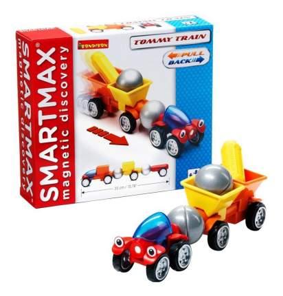 Магнитный конструктор smartmax/ Bondibon специальный (special) набор инерц.:трейлер томми