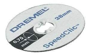 Отрезной диск по камню для угловых шлифмашин DREMEL 2615S690JA