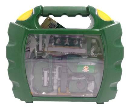 Помогаю папе. набор инструментов в чемодане pt-00569
