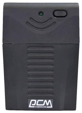 Источник бесперебойного питания Powercom Raptor RPT-600A EURO Black