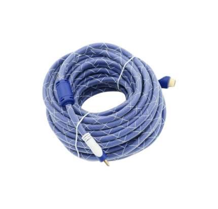 Кабель Behpex HDMI - HDMI, 15м White/Blue (794320)