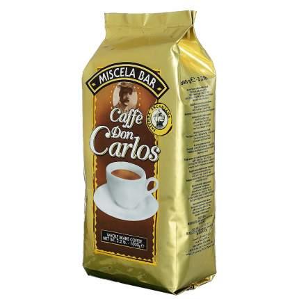 Кофе зерновой Carraro don Carlos 1 кг