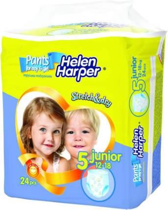 Подгузники-трусики Helen Harper Stretch Dry Junior 5 (12-18 кг), 24 шт.