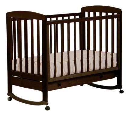 Кровать-качалка Лель Ромашка 16,1 венге