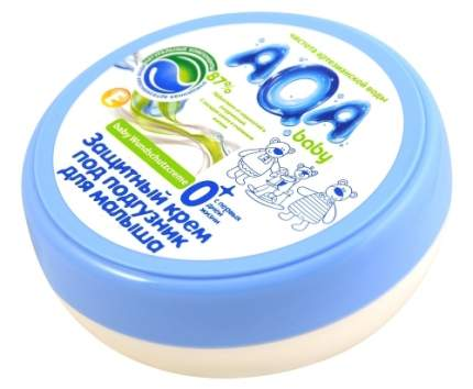 Крем AQA BABY защитный под подгузник 100 мл (2012101)