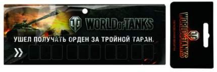 Автомобильная визитка WORLD OF TANKS WOT-MT-WT031505