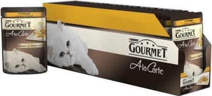 Влажный корм для кошек Gourmet A la Carte, курица, 85г