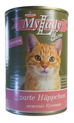 Консервы для кошек Dr. Alder's My Lady Classic, с кроликом в соусе, 415г