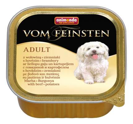 Консервы для собак Animonda Vom Feinsten Adult, с говядиной и картофелем 150г