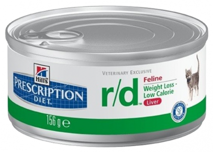 Консервы для кошек Hill's Prescription Diet Metabolic Feline, курица, 156г