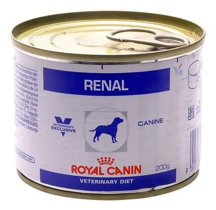 Консервы для собак ROYAL CANIN Renal, свинина, 200г