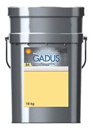 Специальная смазка для автомобиля Shell Gadus S4 V45AC 00/000 18 кг