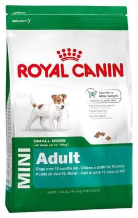 Сухой корм для собак Royal Canin Mini Adult для взрослых собак мелких пород 8 кг