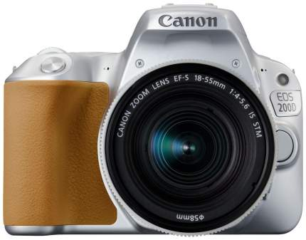 Зеркальный фотоаппарат Canon EOS 200D Silver