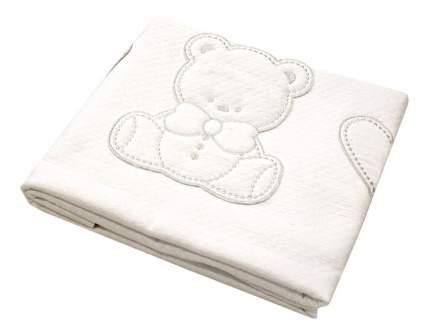Покрывало детское Italbaby Amore 110х150 пике белый