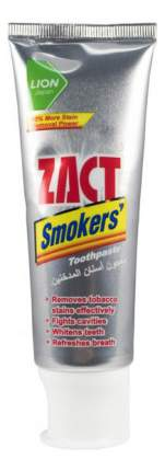Зубная паста Lion Zact для курящих с отбеливающим эффектом 100 г