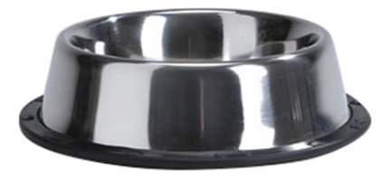 Одинарная миска для кошек Beeztees, сталь, резина, серебристый, 0.3 л