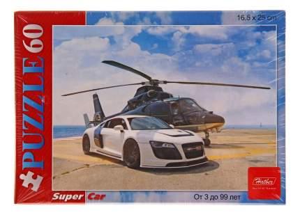 Пазл Hatber Вертолет и гонка 60 элементов