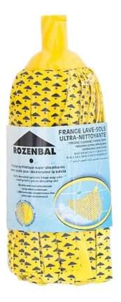 Сменная насадка для швабры ROZENBAL Желтая Веревочная