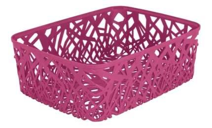 Корзина плетеная Curver Neo colors l розовая