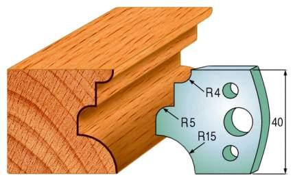 Комплект из 2-х ножей 40x4 SP CMT 690.129