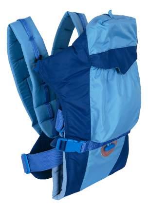 Рюкзак для переноски детей Чудо-Чадо BabyActive Lux синий/голубой