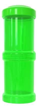 Контейнер с крышкой для хранения продуктов Twistshake Зеленый 2 шт. 100 мл