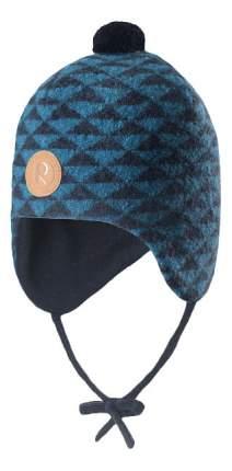 Шапка детская Reima, цв. синий р-р 46