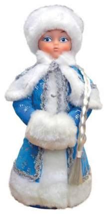 Кукла новогодняя Яркий праздник Снегурочка Голубая 35 см