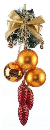 Гроздь шаров на ель Елочка Новелла C920 6 см 6 шт.