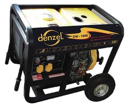 Дизельный генератор Denzel DW180Е 94664