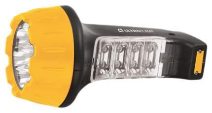 Туристический фонарь Camelion Ultraflash Akku Profi LED3818 желтый/черный, 2 режима