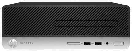 Системный блок HP ProDesk 400 G4 1JJ61EA Серебристый, черный