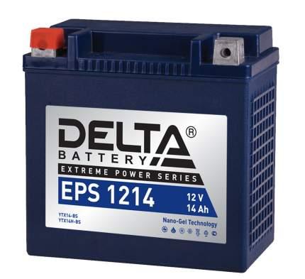 Аккумулятор автомобильный автомобильный Delta EPS 1214 14 Ач