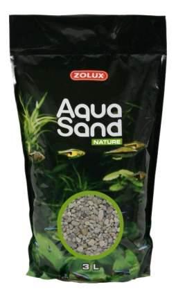 Песок для аквариума ZOLUX Aquasand Quartz Gros, крупный (15 мм) 3 л