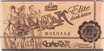 Шоколад горький Спартак элитный 90% 90 г