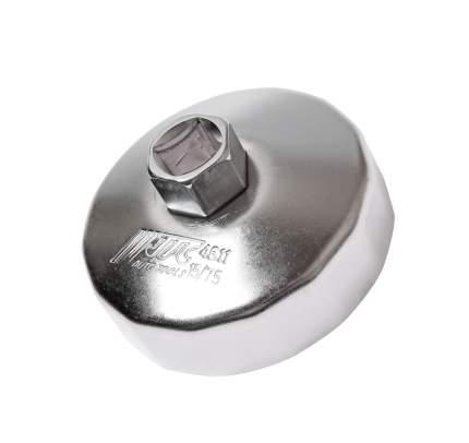 """Съемник масляного фильтра (""""чашка"""" 15-гранная) 75см JTC /1/10/100"""