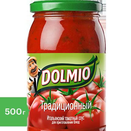 Итальянский соус Dolmio для приготовления блюд традиционный 500 г