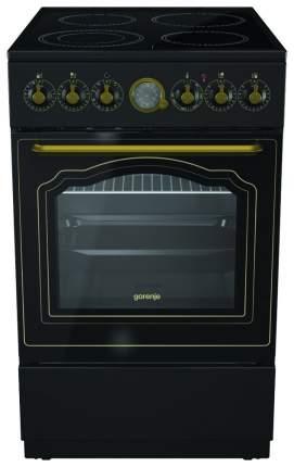 Электрическая плита Gorenje EC52CLB Black