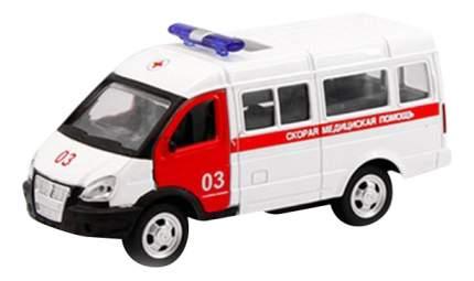 Микроавтобус инерционный Автопарк Скорая помощь 1:50 Play Smart А74791