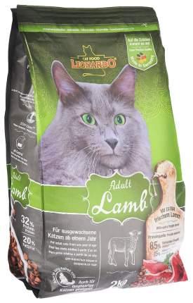Сухой корм для кошек Leonardo Adult Lamb, ягненок и рис, 2кг