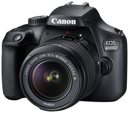Зеркальный фотоаппарат Canon EOS 4000D EF-S 18-55 III Kit Black