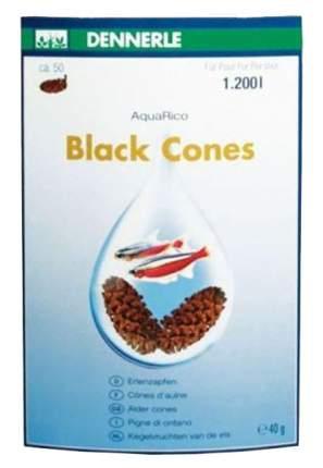 Ольховые сережки Dennerle BlackCones Erlenzapfen для аквариума 50шт