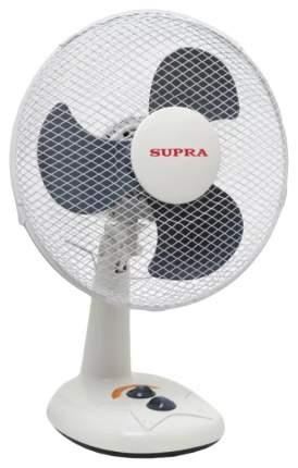Вентилятор настольный Supra VS-1201 white/grey