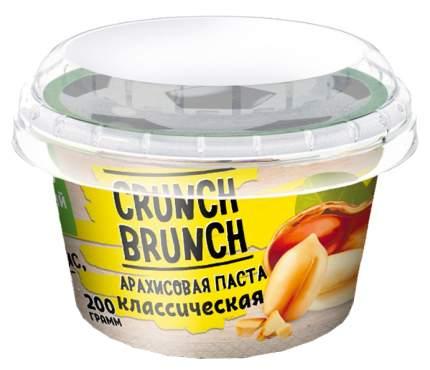 Арахисовая паста Crunch Brunch Классическая 200 г