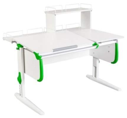 Парта Дэми White Double СУТ-25-01Д1 Белый/Зеленый
