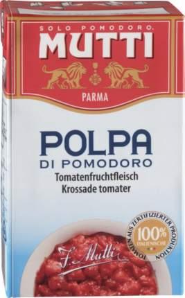 Томаты резаные Mutti в томатном соке 500 г
