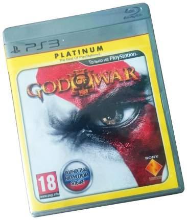 Игра God of War 3 Platinum русская версия для PlayStation 3